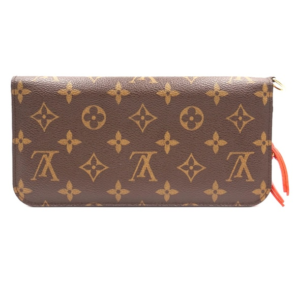 Louis Vuitton Handbags - Monogram and Orange Interior Grenade Wallet